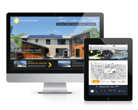 South Coast Solar is a leader in the solar industry for the Gulf South and is continually on the vanguard of renewable technologies having installed over 400 solar energy systems in Louisiana, Mississippi, Alabama, Texas and as far away as Sierra Leone, West Africa. Skuba Design was engaged to redesign and redevelop their new website as well as carry out branding and marketing efforts in app UI design and marketing materials including car wraps for their smart car fleet.