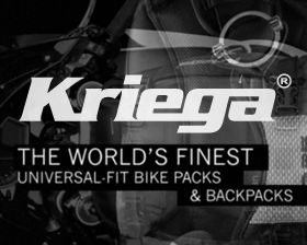 Kriega is a well respected line of high end motorcycle bags and accessories produced in the UK. Their target market are the Ducati & BMW riders, both off road & the racing obsessed choose Kriega as their gear of choice. We were chosen to create the marketing initiative announcing product to availability in the United States including creating the introductory package to launch Kriega into this new region.