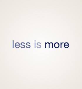Less-is-more  large
